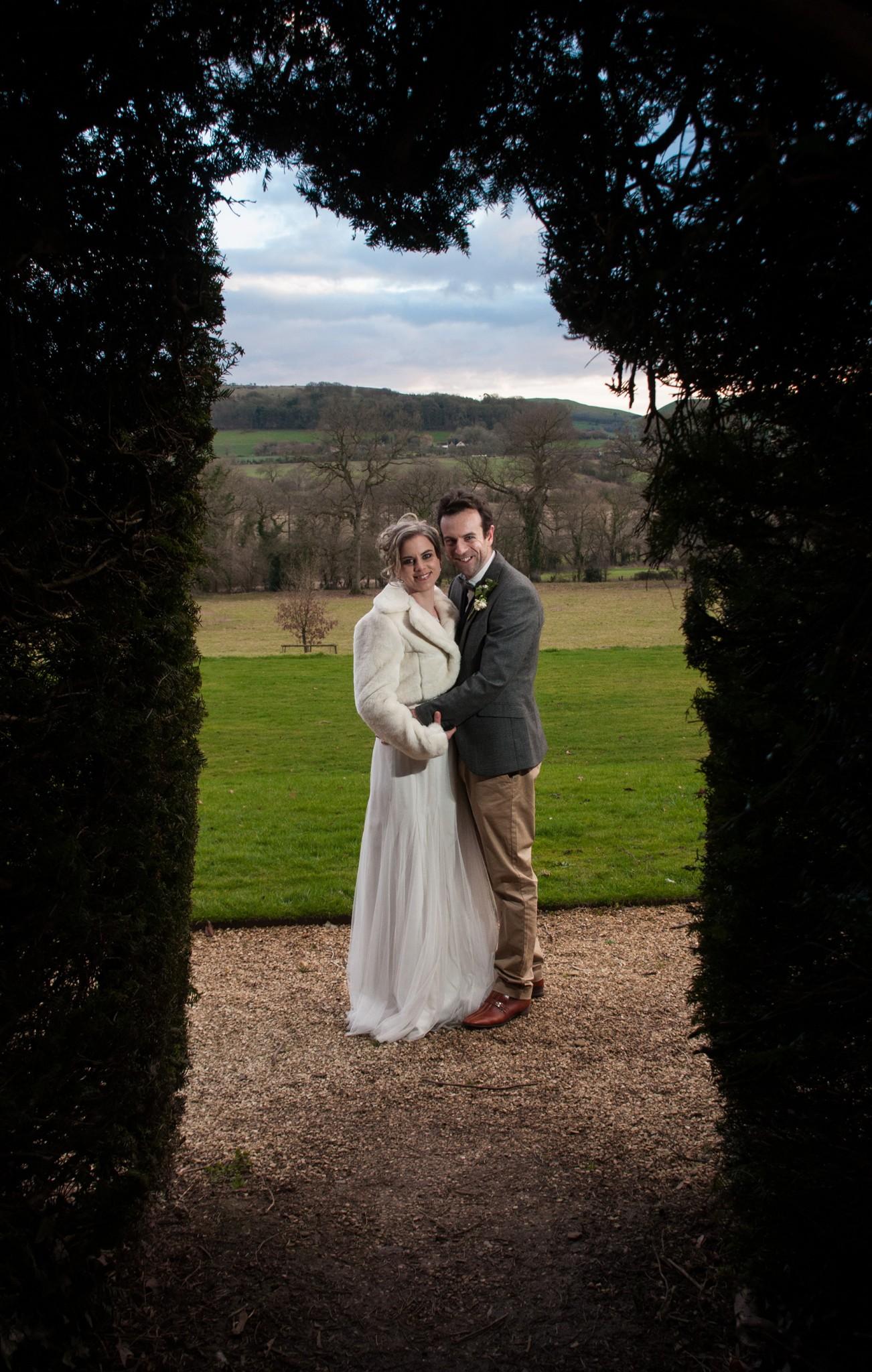 Fran and James Wedding